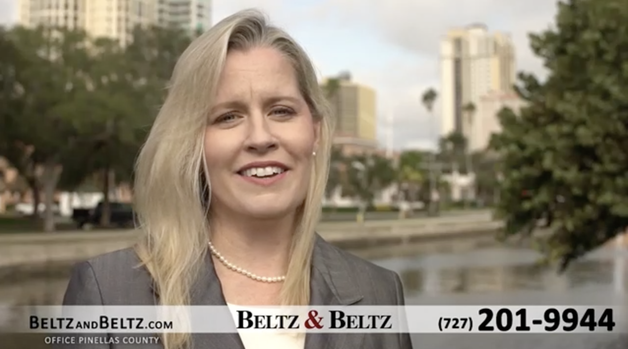 jennifer beltz in a tv commercial