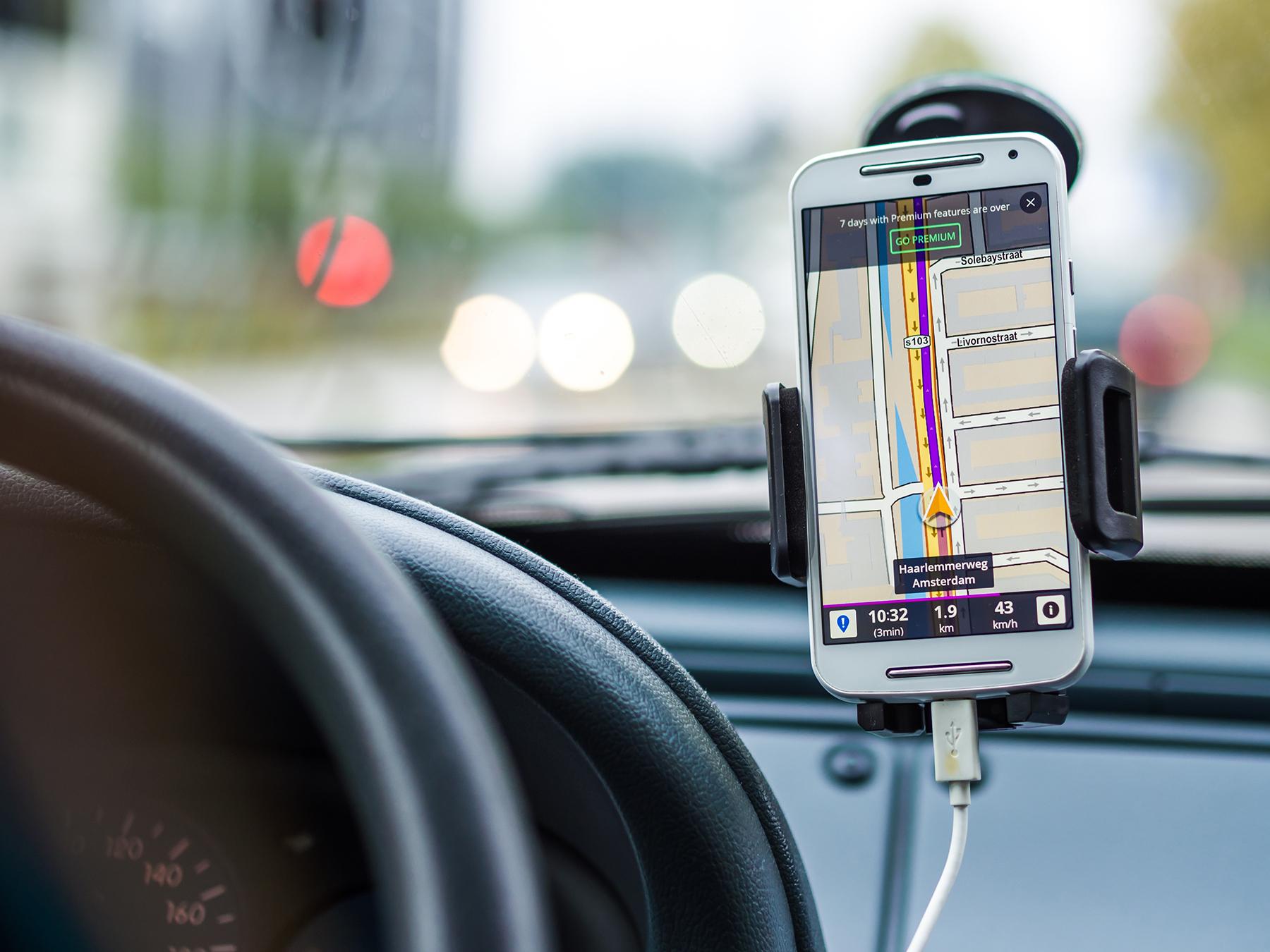 uber and lyft navigation