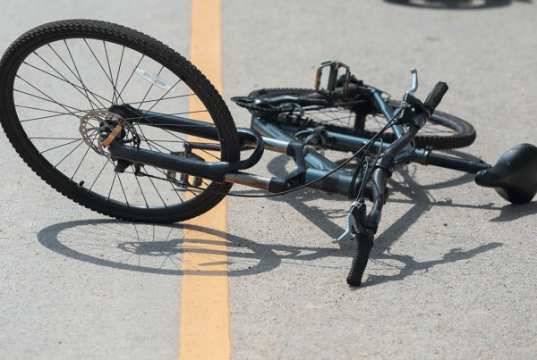 Bicyclist Killed in Crash on MLK St