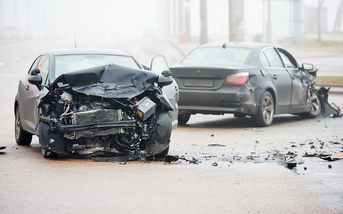 auto accident wrong way crash