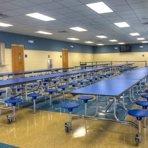 school cafeteria middle school student neglect