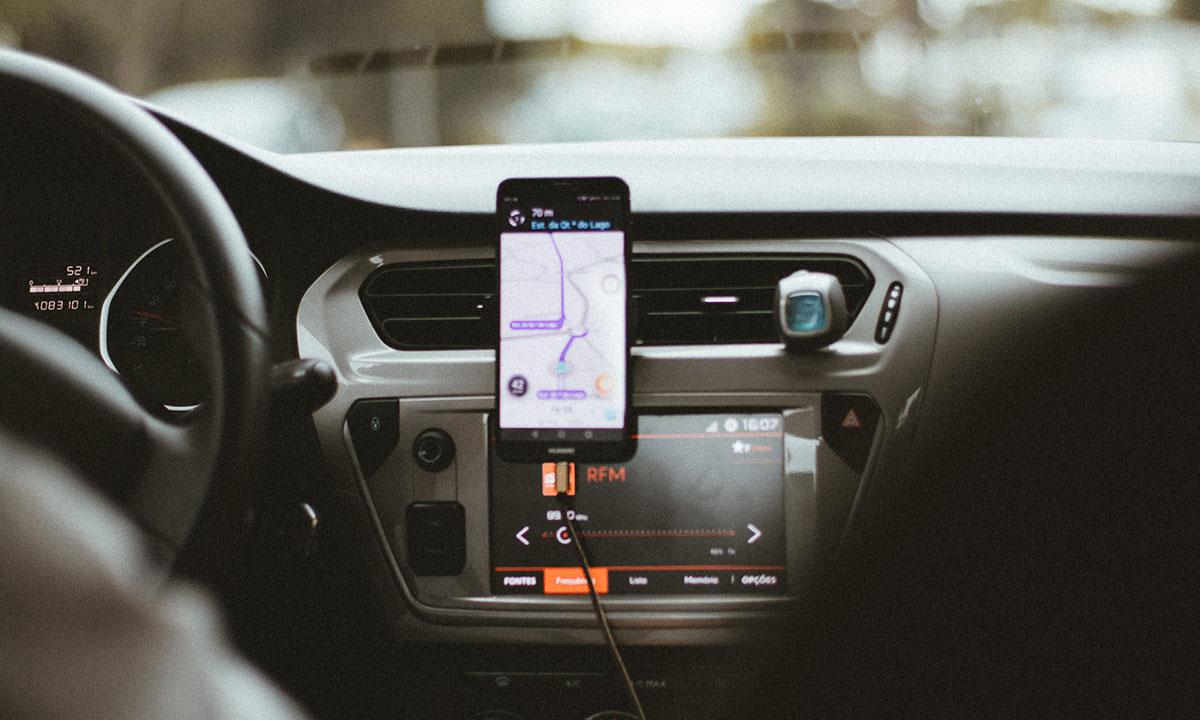 rideshare driving app