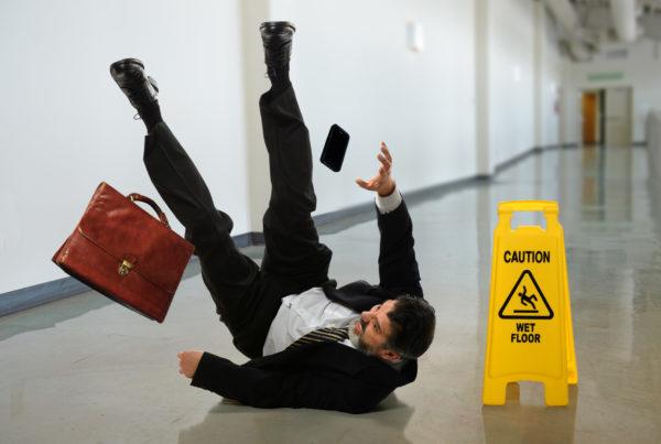 valid slip and fall claim