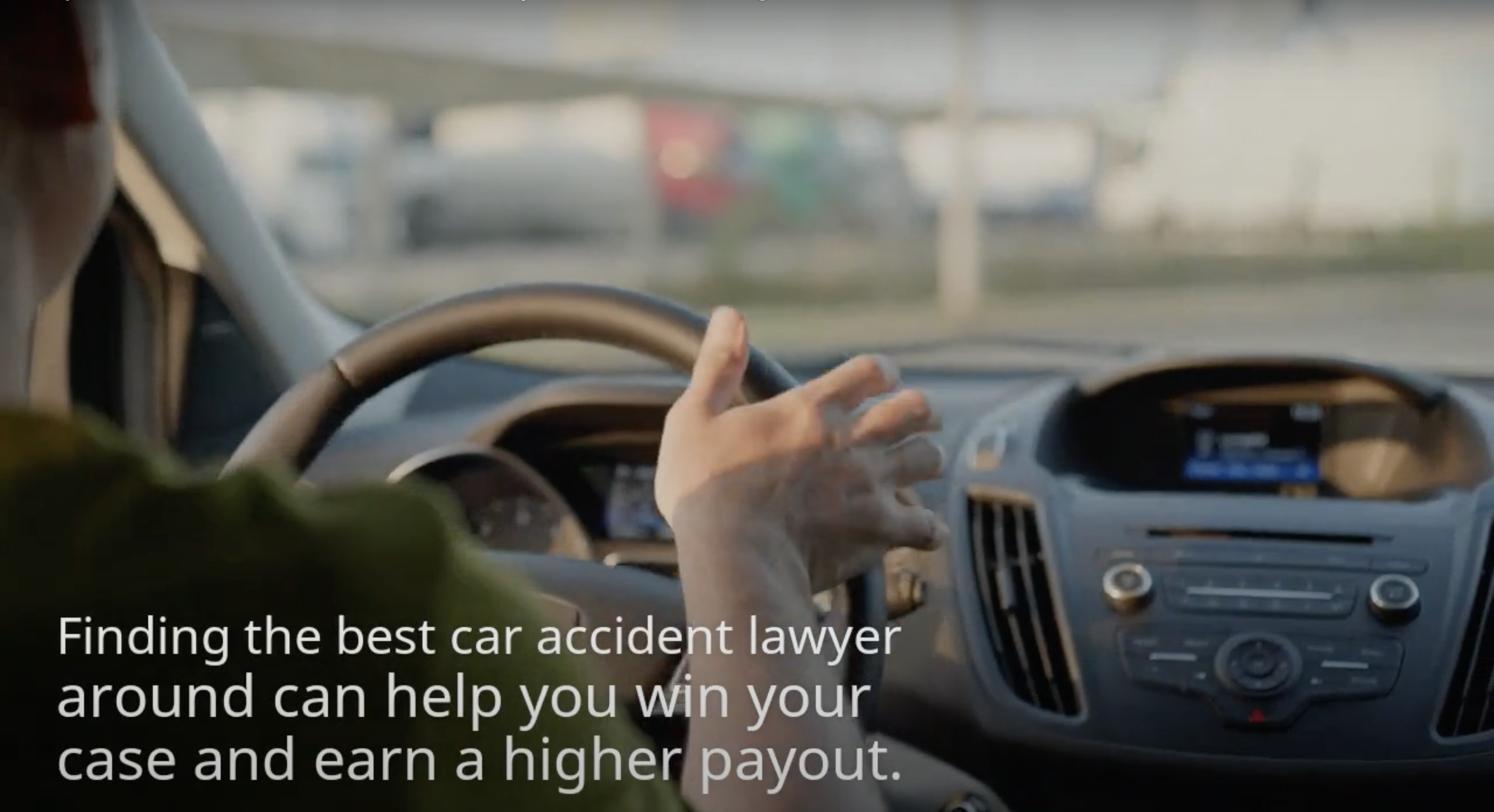 car accident attorney video thumbnail